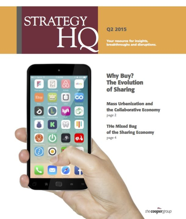 The Sharing Economy (Strategy HQ Magazine)