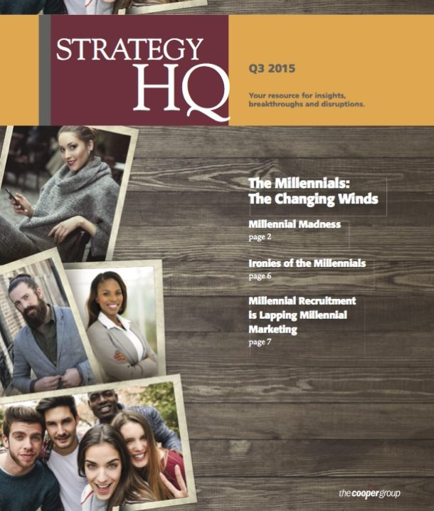 The Millennials: The Changing Winds (Strategy HQ Magazine)