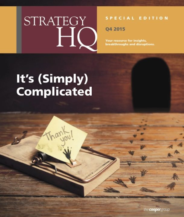 Strategy HQ Magazine: Simplicity Adaptive