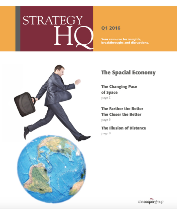 Strategy HQ Magazine: Spacial Economy