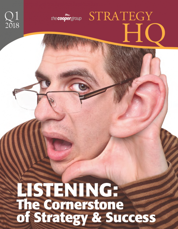 Strategy HQ Magazine – LISTENING: The Cornerstone of Strategy & Success